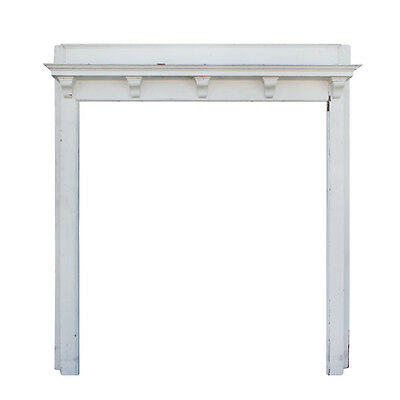 Understated Antique Fireplace Mantel, Robert Mitchell Furniture Co. NFPM106