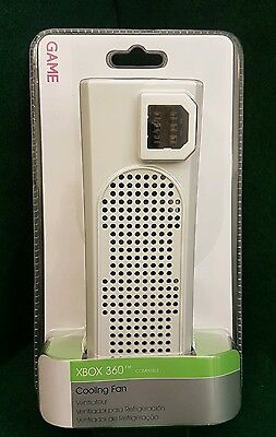MICROSOFT XBOX 360 COOLING FAN COOLER ADAPTER  white - BRAND NEW (c1)