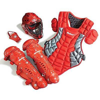 New MacGregor Youth Catcher's Gear Pack Baseball Softball Full Set Ages 8-12