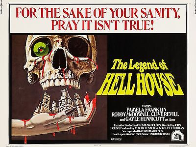 """The Legend of Hell House 16"""" x 12"""" Reproduction Film Poster Photograph"""