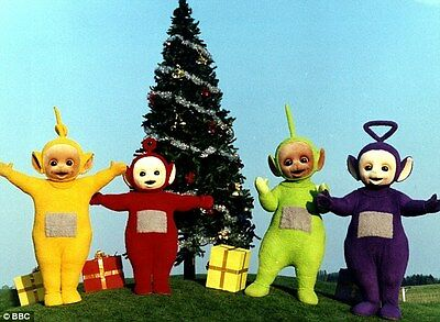 Personalized letter from Santa with Teletubbies gifts