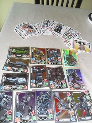 Job Lot of 100+ Transformers Trading Cards by Topps 2014 inc 15 mirror cards