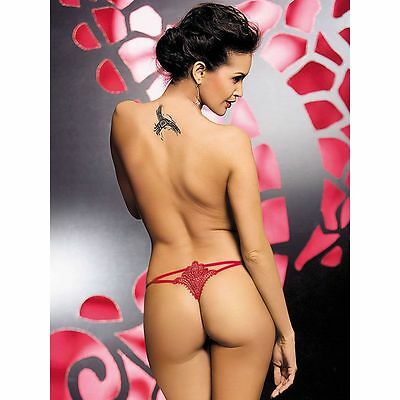Luiza string rouge Obsessive femme
