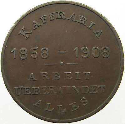 South Africa Kaffraria Penny 1908    #t9 185