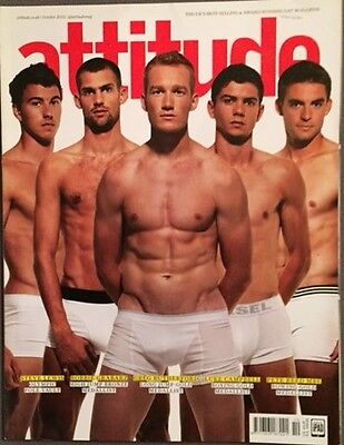 Attitude Gay Magazine Greg Rutherford Team GB Cover