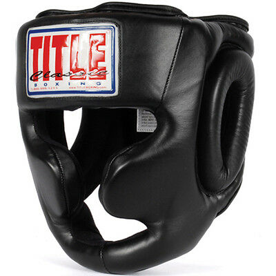 Title Boxing Classic Full Coverage Headgear-Large