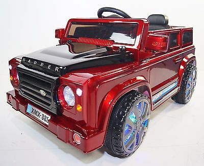LAND ROVER For Kids style Happer (Model XMX-885) Ride On Car Red