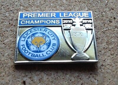 Leicester City FC - Premier League Champions 2015/16 Pin/Badge [shield]