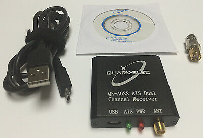 Quark QK-A022 Dual Channel Marine AIS Receiver with USB output for boats & ships