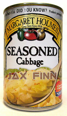 3 Pack - Margaret Holmes® Seasoned Cabbage, 15 oz cans