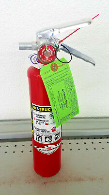 2.5lb Fire Extinguisher ABC Dry Chemical - Amerex - Rechargeable New Tag