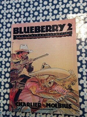 Blueberry 2 Ballad For A Coffin Moebius