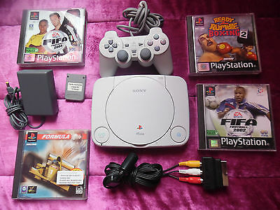 Console PLAYSTATION Sony  PS1/PS one + 6 Jeux