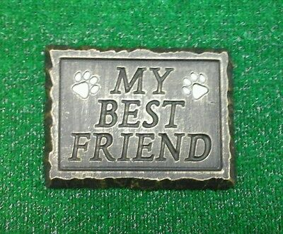 Dog or cat Large Pet Memorial/headstone/stone/grave marker/memorial paw