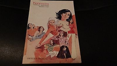 Vintage Sewing Machine Owner's Manual for Kenmore Model 1345