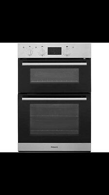 Hotpoint DD2540IX Built-in A Rated Electric Double Oven in Stainless Steel