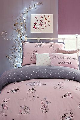 Next A/w 2016 Fairy Tale 'once Upon A Time' Woodland Bed Set Single Bnip