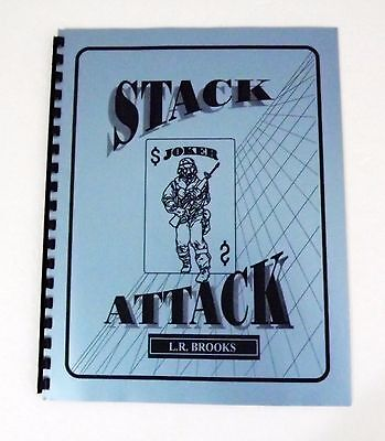 Stack Attack by L.R. Brooks - 1998 - New