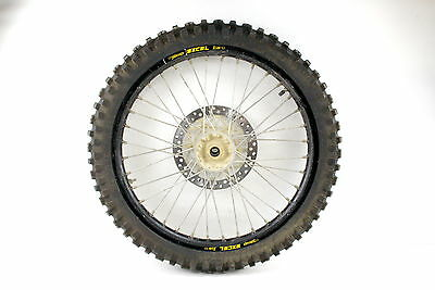 front wheel with rotor 1996 Yamaha YZ125 YZ 125 assembly 80/100-21 OEM