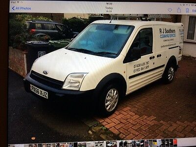 Ford Connect Window Cleaning Van
