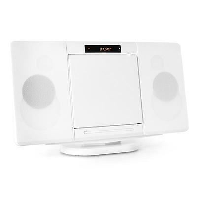 Compact Cd Player Micro Hifi Stereo Sound System Radio Usb Built In Speakers