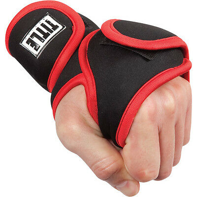 Title Boxing Deluxe Weighted Gloves-3 lb pair