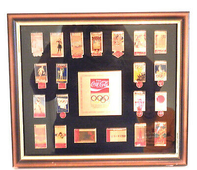 Coca Cola Collector Series Historic Summer Olympic Games Limited Edition 21 Pins