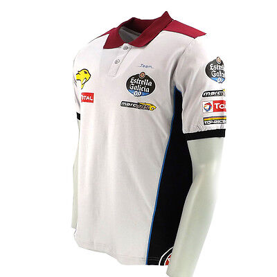 Marc VDS Team Mens Official MotoGP Polo Shirt Size UK XL