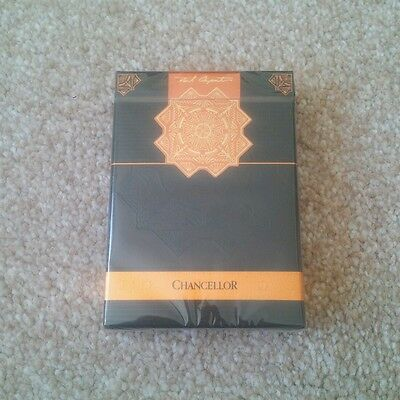 CHANCELLOR Limited edition playing cards ENCARDED rare new sealed EPCC gold