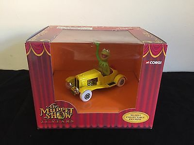 The Muppet Show Kermit Corgi Car ~ Rare 25 Years Collectable - New In Box