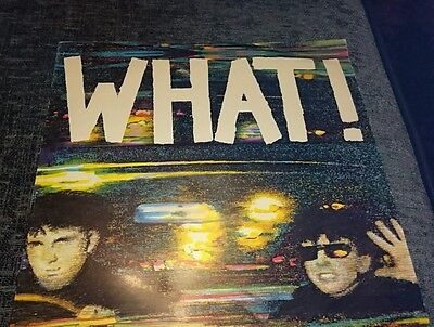"""Soft Cell What! 1982 Some Bizzare 12"""" Vinyl Record"""