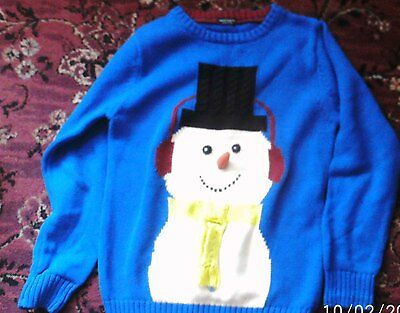 Next Childs Christmas Jumper size 9 years