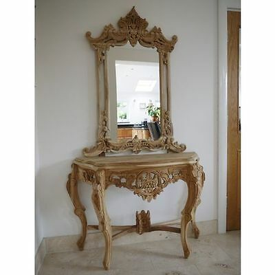 Stunning Console table and Mirror