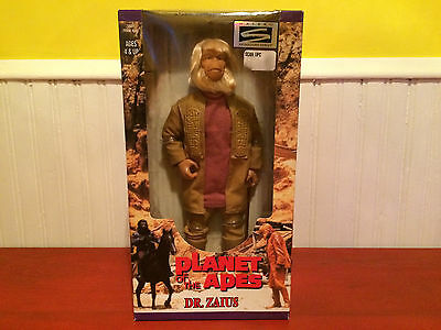 "1998 Planet of the Apes 12"" 30th Anniversary Edition Dr. Zaius Figure NIP!!"
