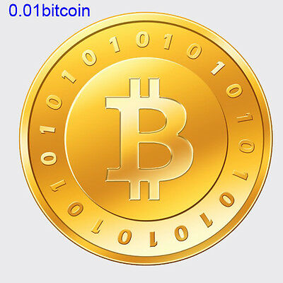 Bitcoin 0.01 (.01 BTC) ,We send direct to your Digital Wallet
