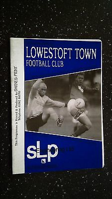 Lowestoft Town V Newmarket Town 1996-97