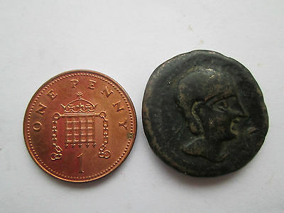 Ancient Bronze  Coin Unidentified  - Celtic ? Greek ?