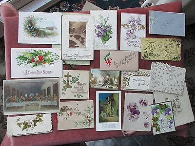 Collection of 20 Vintage Greeting cards.