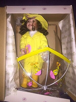Ashton Drake Tweety Doll Umbrella MELINDA WAIN WAIN GO AWAY Looney Tunes 1999