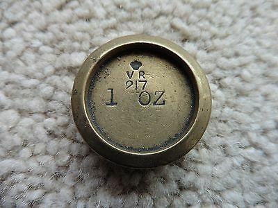 Victorian 217 Scale Weight, 1 Oz,