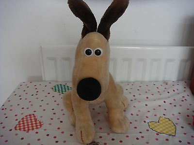 wallace and gromit plush gromit with raised ears rare