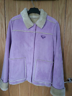 Quiksilver Girls lilac jacket age 12 , S, size 6