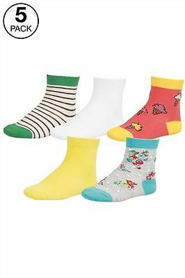 NEXT  5 Pairs socks Shoe Size 9-12 BNWT  very cool  fashionable comfortable