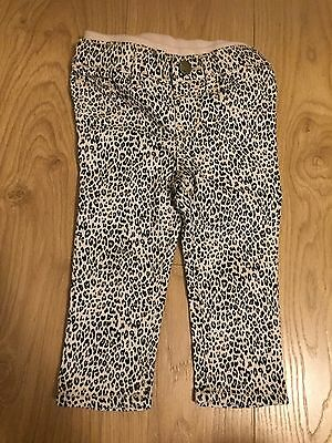 Baby Gap Girl Animal Print Trousers Size 12-18 Months