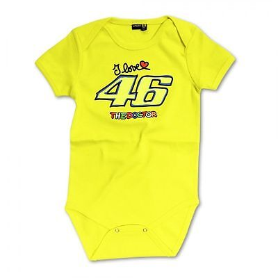 Valentino Rossi Official VR46 MotoGP Baby Grow/Body Suit Age 24 Months
