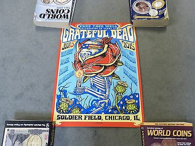 Grateful Dead Fare Thee Well Lithograph Munk One Poster July 3 2015 50 Years