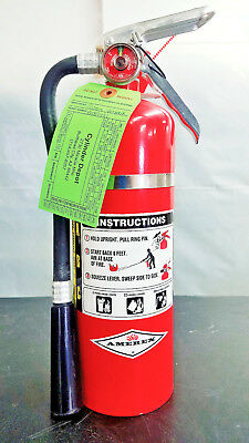 5lb Fire Extinguisher ABC Dry Chemical - Blemished - New Tag