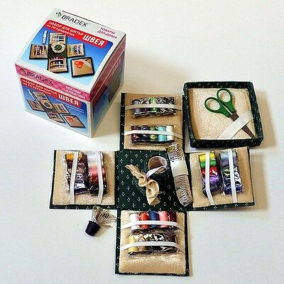New Sewing Kit Box with Foldable Collecting Box ( 70 Pcs)