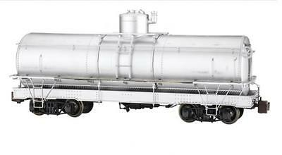 """LGB type Ref No. 88198 """"LS"""" Framed Tank unlettered silver by Spectrum G Scale"""