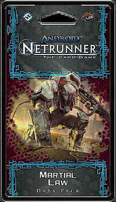 Android Netrunner - Flashpoint Cycle Data Pack - Martial Law (Pre-order)